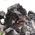 押出した溶岩